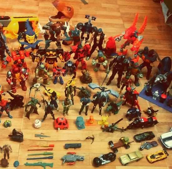Action Figure Collection...